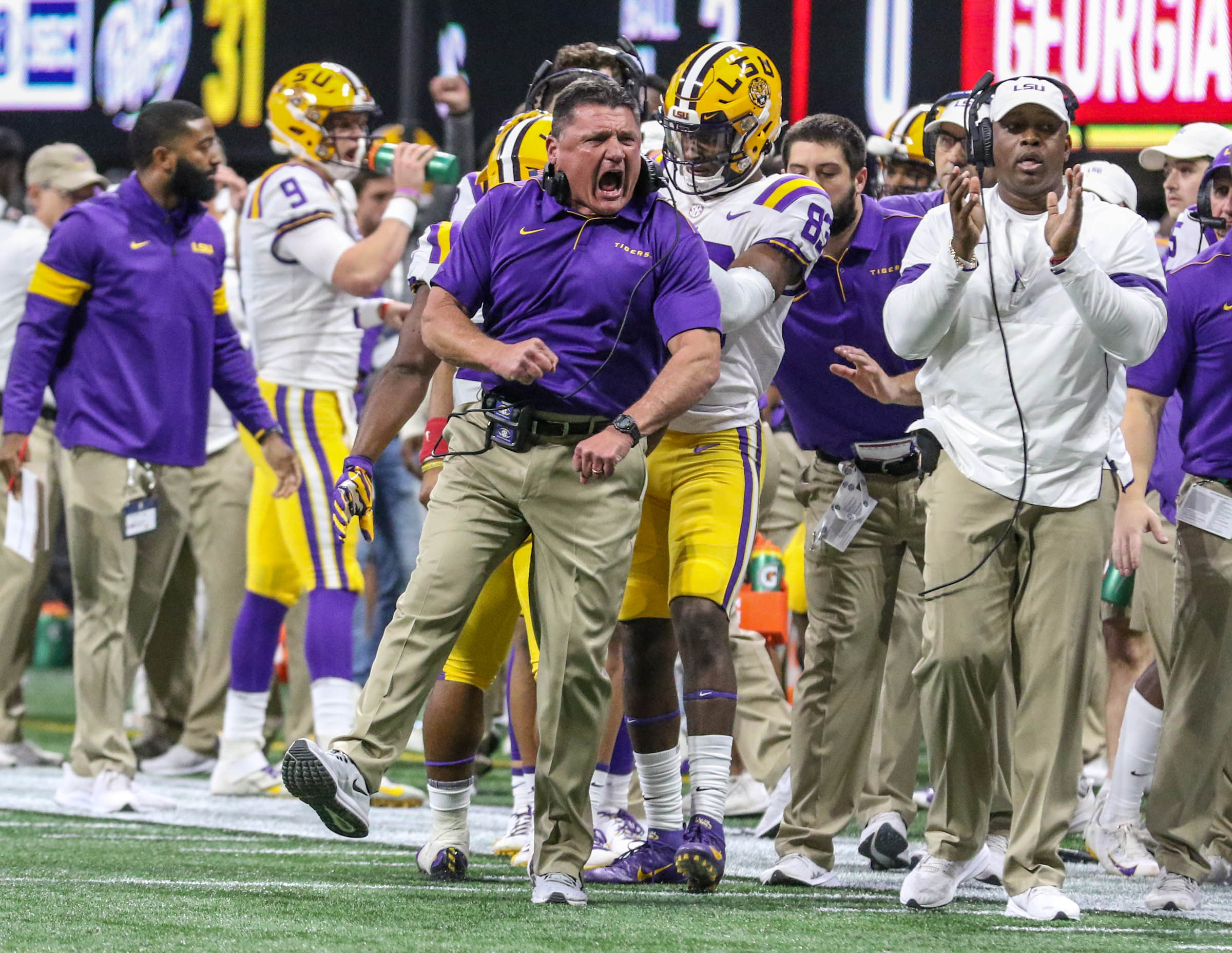 Linebacker Donte Starks Tossed Off Lsu Team By Coach O